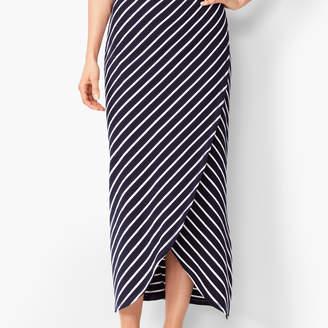 Talbots UPF 50+ Slub-Terry Maxi Skirt