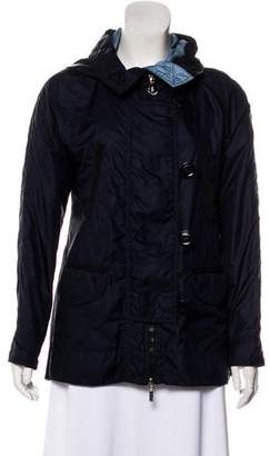 Moncler Hooded Short Coat