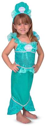 Melissa & Doug Mermaid Role Play Costume Set