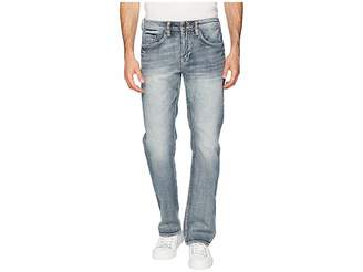 Buffalo David Bitton Six-X Straight Leg Jeans in Sanded and Worn
