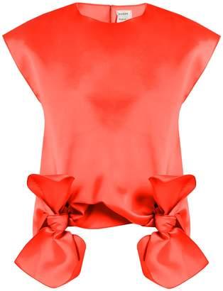Maison Rabih Kayrouz Tie-front sleeveless top