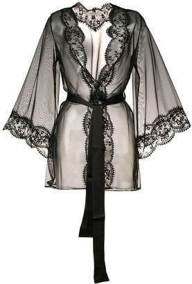 Deshabille Gilda & Pearl sheer robe
