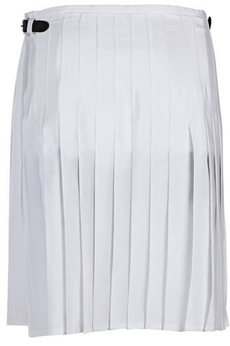 J.W.Anderson White Pleated Skirt