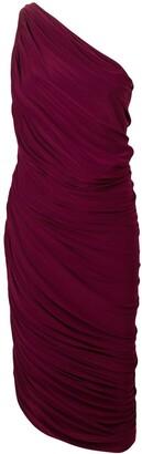 Norma Kamali ruched tube cocktail dress