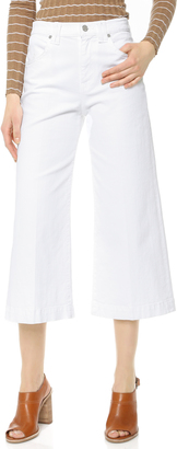 7 For All Mankind Culotte Jeans $178 thestylecure.com