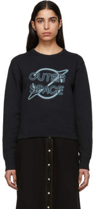 Rag & Bone Black Outer Space Sweatshirt
