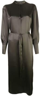 Vince belted tunic dress