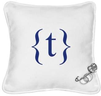 Cathy's Concepts Monogram Ringbearer Pillow