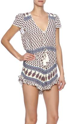 Cotton Candy Fest Dressed Romper $58 thestylecure.com