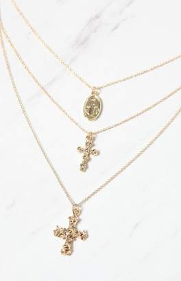 8 Other Reasons Crossed Lariat Necklace