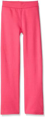 Hanes Big Girls' Comfortsoft Ecosmart Open Bottom Fleece Sweatpant