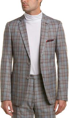 Paisley & Gray Dover Notch Lapel Slim Fit Jacket