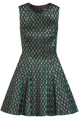 Dolce & Gabbana Metallic Jacquard Mini Dress