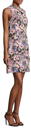 Rebecca Taylor Lavinia Floral-Print Dress