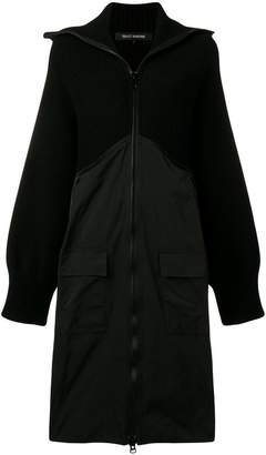 Ter Et Bantine rib knit hooded coat