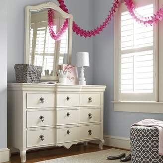 Harriet Bee Chassidy 5 Drawer Dresser with Mirror