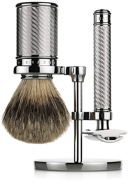 Baxter Of California Baxter of California Double-Edge Safety Razor & Badger Brush Set