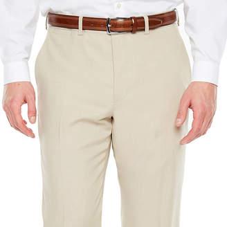 Jf J.Ferrar Tan Stretch Suit Pant Slim Fit Stretch Suit Pants