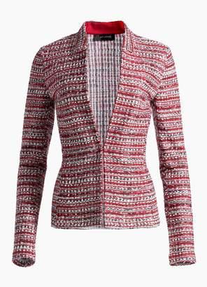 St. John Amelia Knit 3/4 Sleeve Jacket