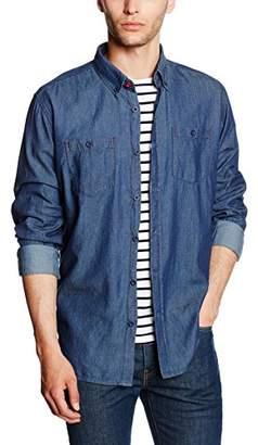 Cross Men's 35048 Casual Shirt Blau 071, XL