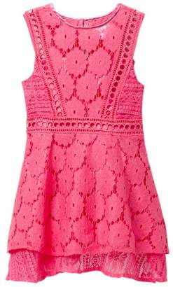 BCBGirls Multi Lace Dress (Toddler & Little Girls)