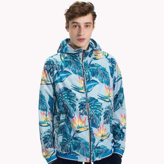 Tommy Hilfiger Tropical Print Windbreaker