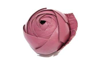 Chanel Pink Leather Pins & brooches