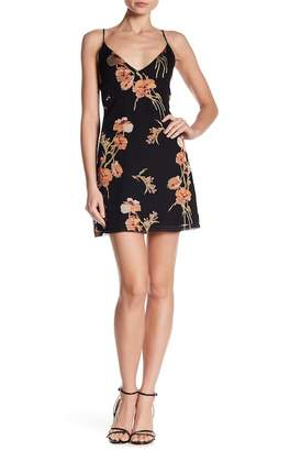 Honey Punch Floral Spaghetti Strap Dress