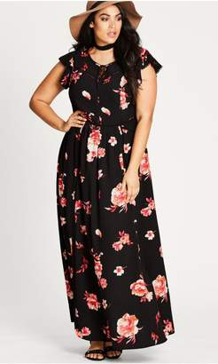City Chic Citychic Floral Lover Maxi Dress