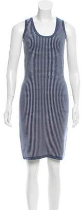 Derek Lam Patterned Bodycon Dress