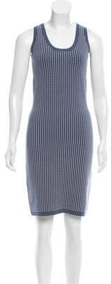 Derek Lam Patterned Bodycon Dress