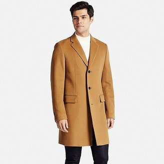 Men Wool Cashmere Chesterfield Coat $149.90 thestylecure.com