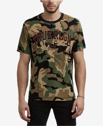 True Religion Men's Logo Camo T-Shirt