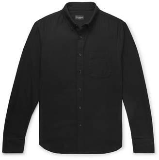 Club Monaco Slim-Fit Herringbone Cotton Shirt