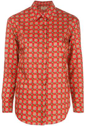 Burberry Tiled Archive print shirt