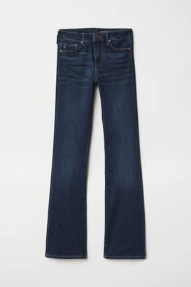 H&M Shaping Bootcut Regular Jeans - Blue