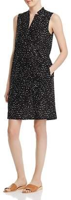 Eileen Fisher Dotted Organic Cotton Dress