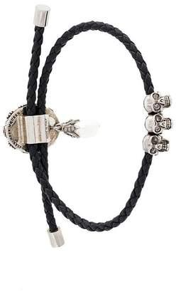 Alexander McQueen jewel charm bracelet