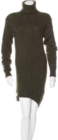 CelineCéline Cashmere Turtleneck Dress