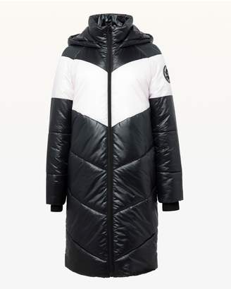 Juicy Couture JXJC Colorblock Puffer Coat