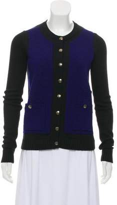 Marc by Marc Jacobs Color-Block Knitted Cardigan