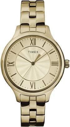 Timex Women's TW2R28100 Peyton Stainless Steel Bracelet Watch