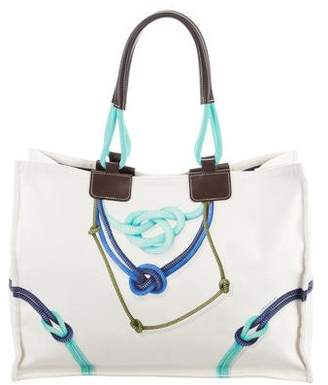 Longchamp Large Printed Tote