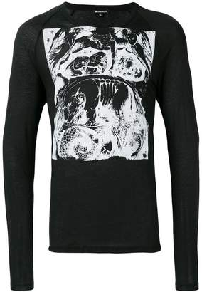 Ann Demeulemeester abstract print T-shirt