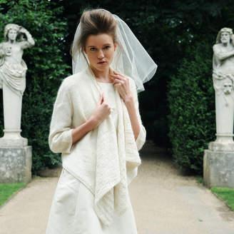 Purl Alpaca Designs Duchess Wedding Cardigan