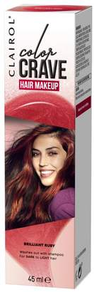 Clairol colour crave temporary hair dye ruby 45ml