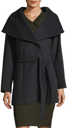 Cinzia Rocca Women's Belted Wool-Blend Coat