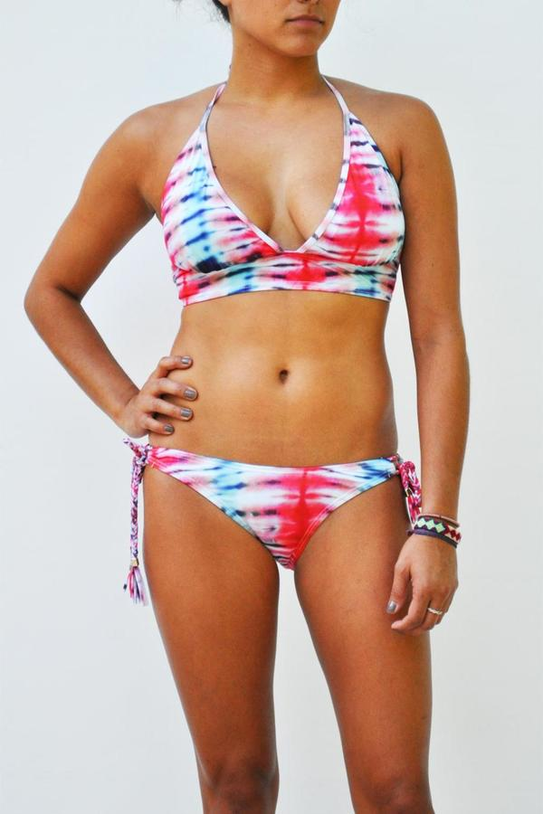 Love The Journey Banded Halter Top