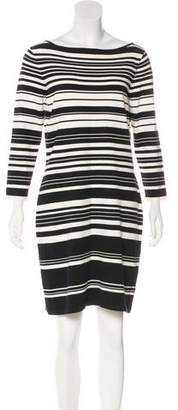 Lauren Ralph Lauren Striped Mini Dress