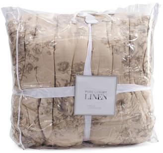 Pure Luxury Linen Luxe Fern Cotton Coverlet Set